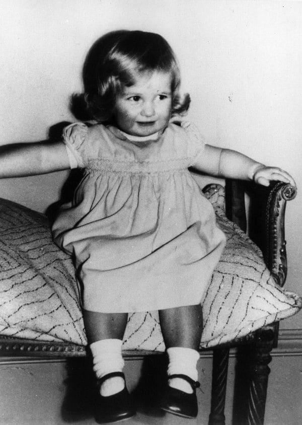 Quando Diana era bebé