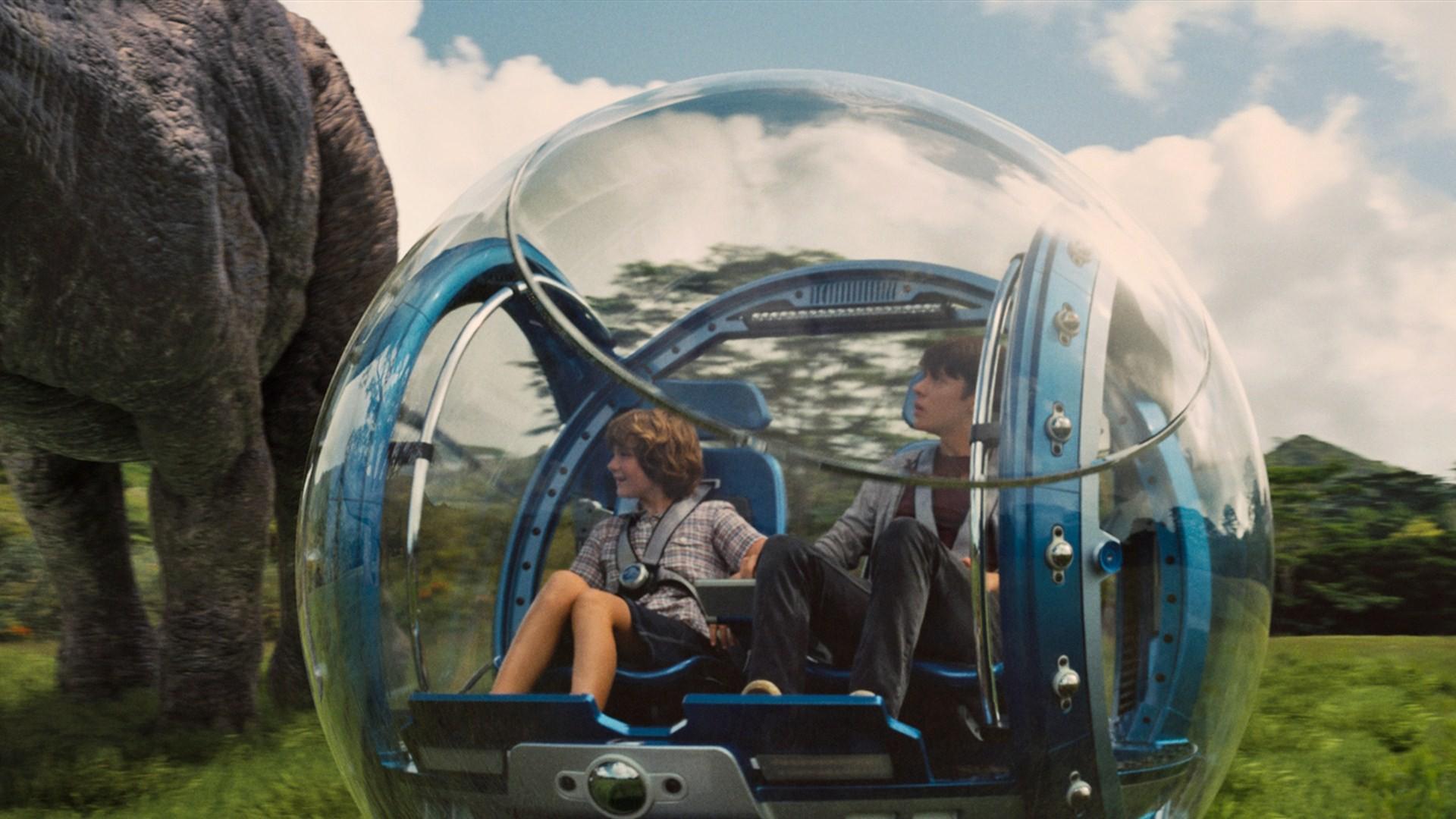 O Carro-Bolha - Jurassic Park