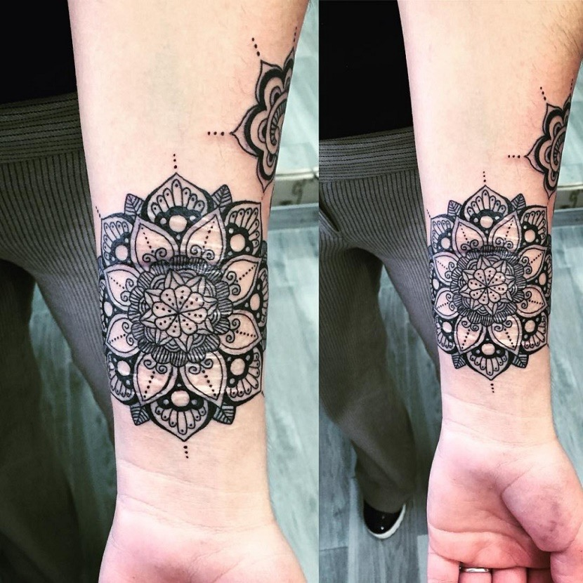 O que significa a tattoo de mandala?