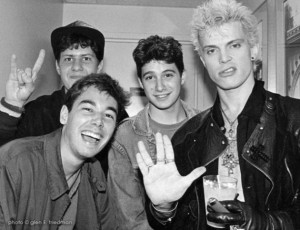 Os Beastie Boys com Billy Idol