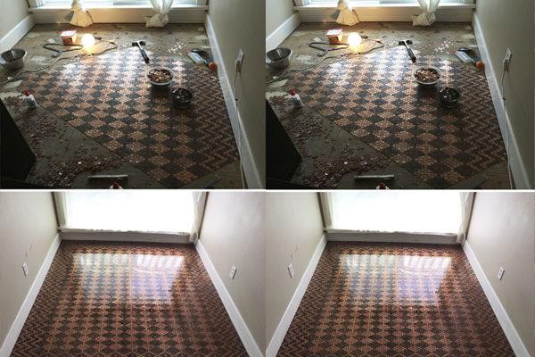 Um piso de $130