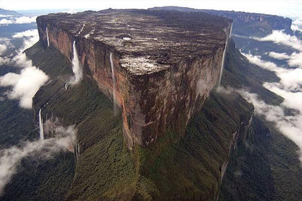 O Monte Roraima, no Brasil