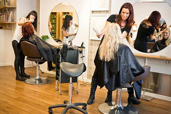 Levar ao cabeleireiro