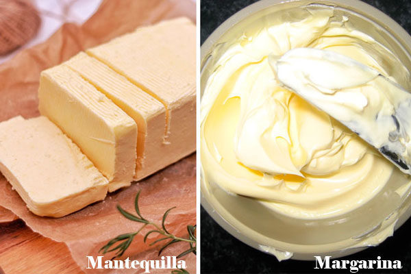 Manteiga e margarina
