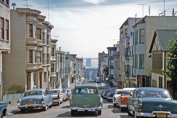 As ruas de San Francisco 1957