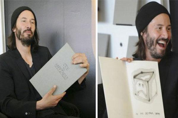 Emocionado pelo seu livro