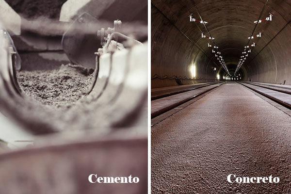 Cimento e concreto