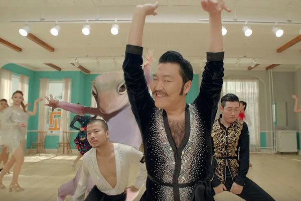 Lagartixa Feat. Psy