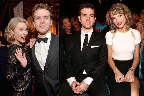 Taylor e Austin Swift
