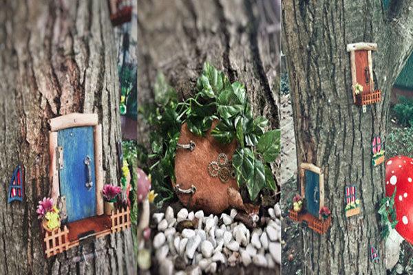 Mini jardim de fadas