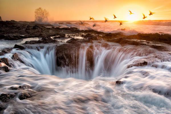 O poço de Thor, Oregon