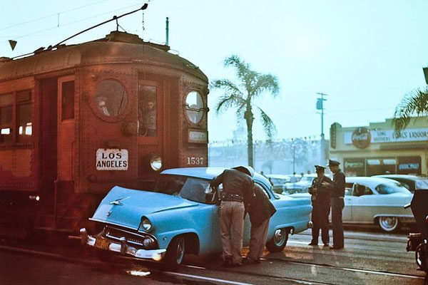 Colisão, 1955