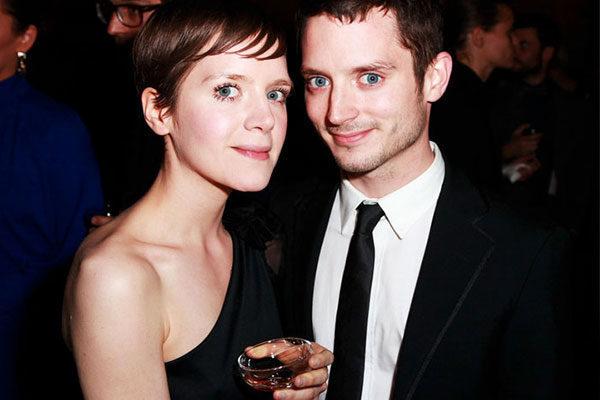 Elijah e Hannah Wood