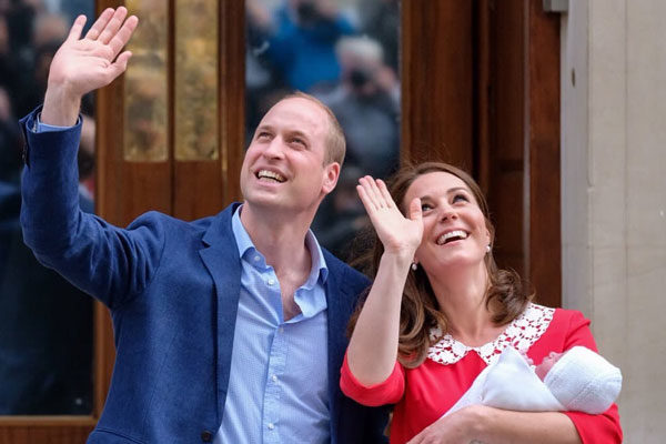 O príncipe William e Kate