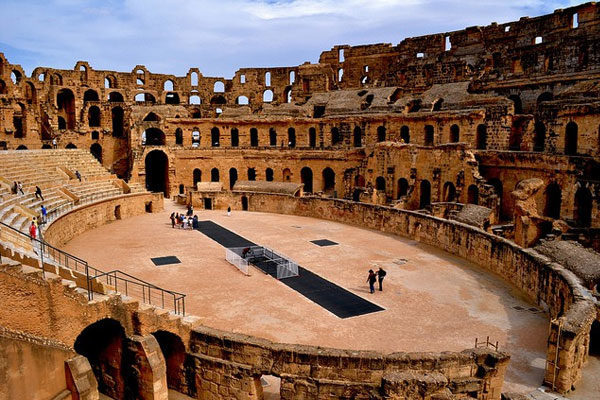 Anfiteatro de El Djem, Túnez