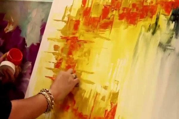 Pintar um quadro