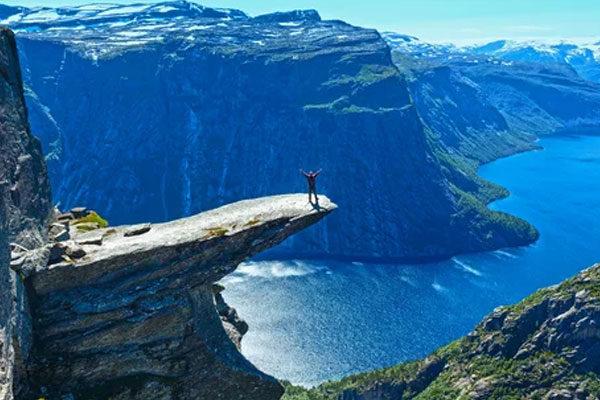 Noruega é o número 2