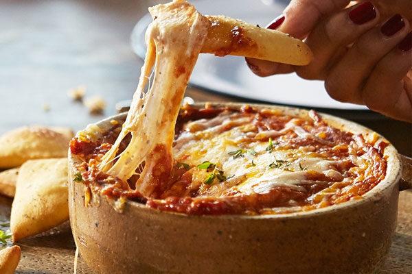 Dip de pizza