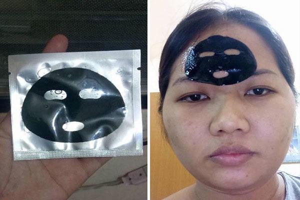 Uma máscara facial