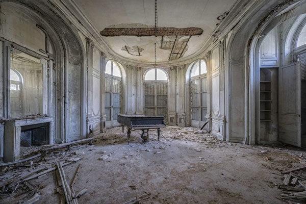 Entre ruínas