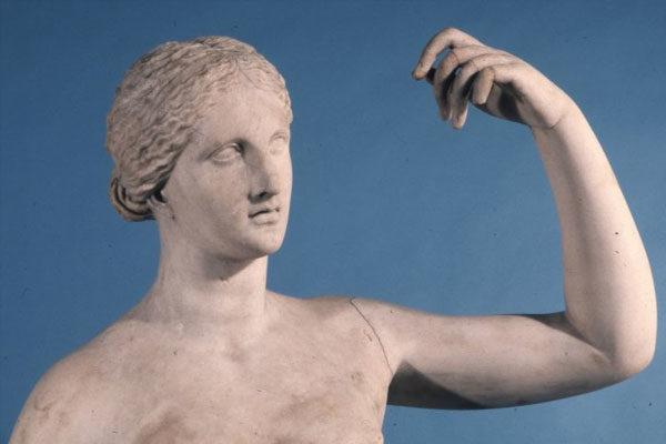 Vênus de Townley sem um dedo