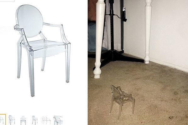 Uma mini cadeira