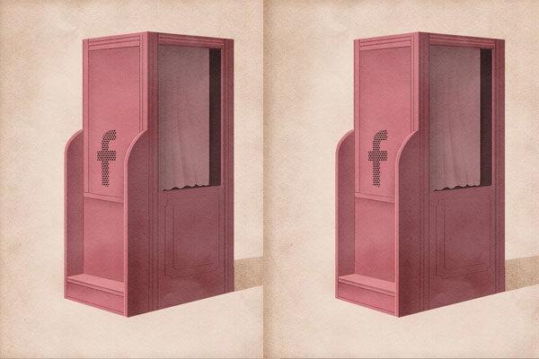 Confissões nas redes sociais