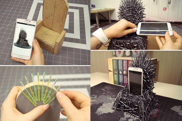 Um trono para celular