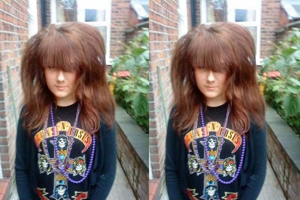 Que cabelo!