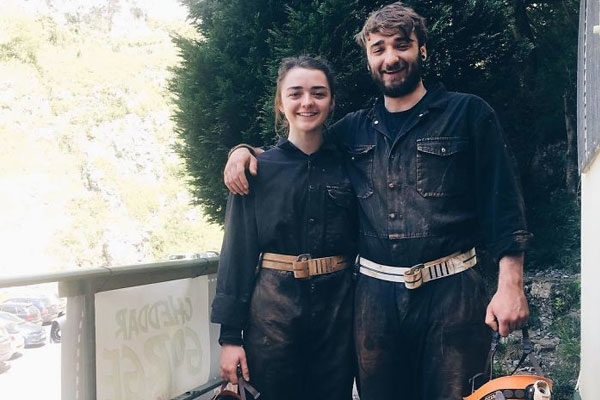 Maisie e James Williams