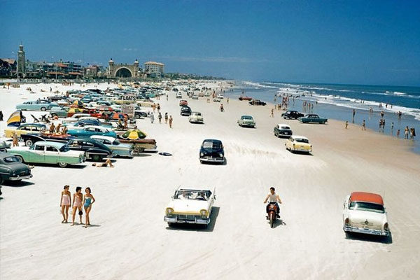 Daytona Beach, 1957
