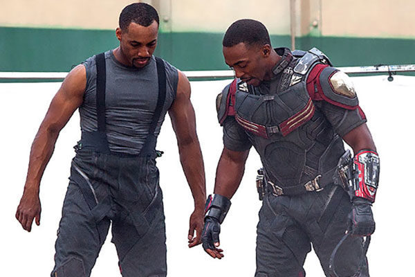 Anthony Mackie e Aaron Toney