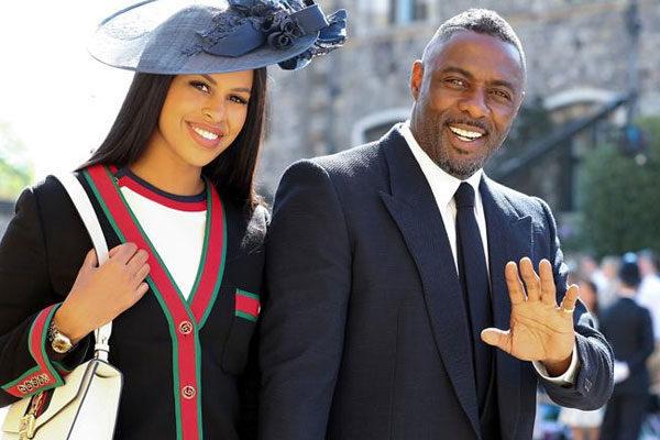 Sabrina Dhowre e Idris Elba