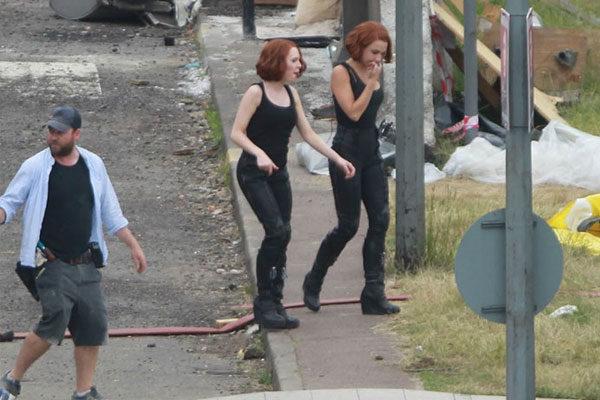 Scarlett Johansson e Heidi Moneymaker