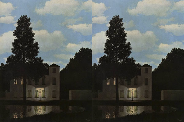 Empire Of Light de Rene Magritte