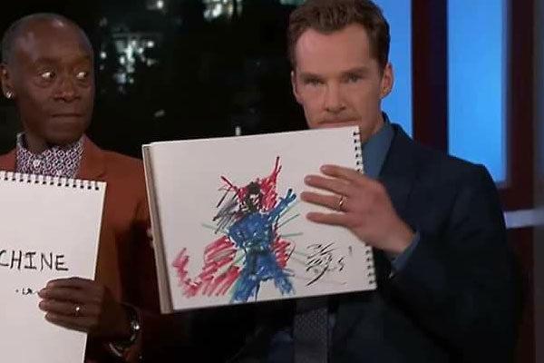 Benedict Cumberbatch- Doctor Strange