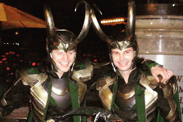 Tom Hiddleston e Paul Lacovara