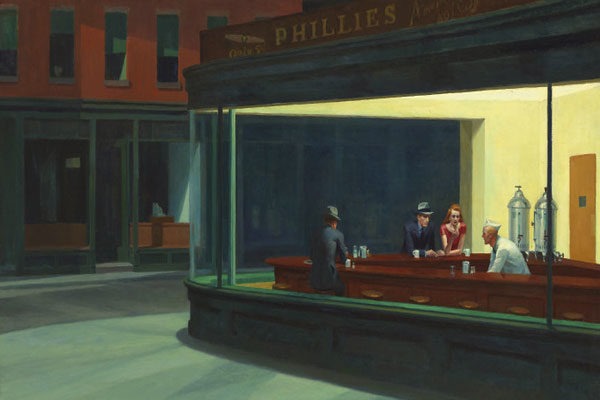 Nighthawks Por Edward Hopper