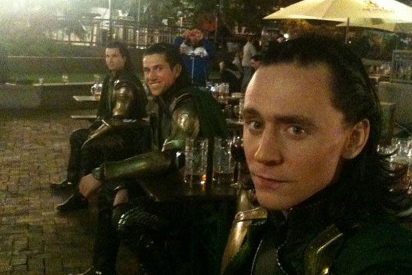 Loki e seus dublês