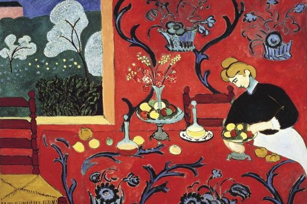 The Dessert: Harmony In Red Por Henri Matisse