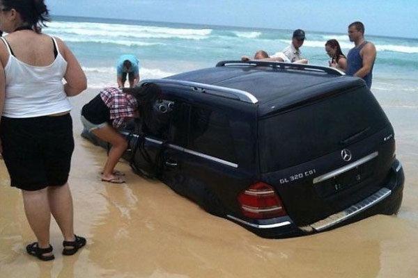 Que fazem na praia?
