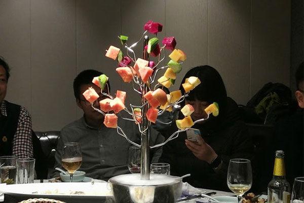 Uma árvore de frutas