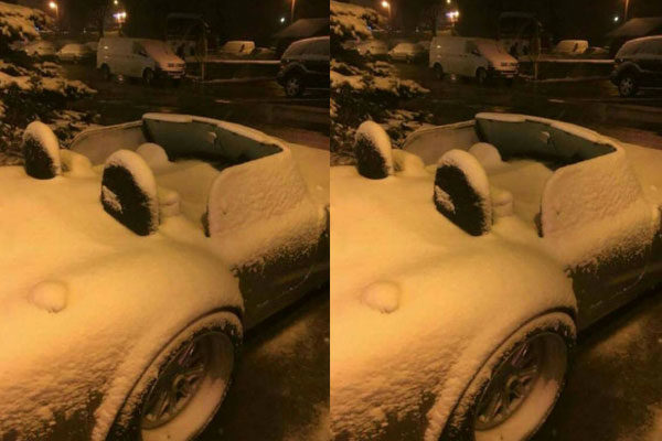 A primeira neve