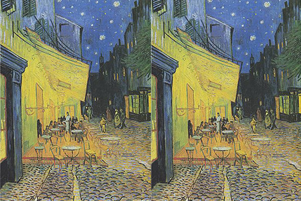 Cafe Terrace At Night Por Vincent Van Gogh