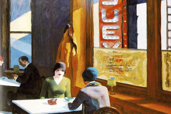 Chop Suey Por Edward Hopper