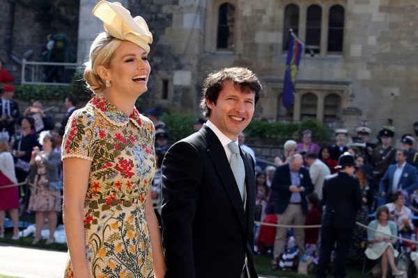 Sofia Wellesley e James Blunt