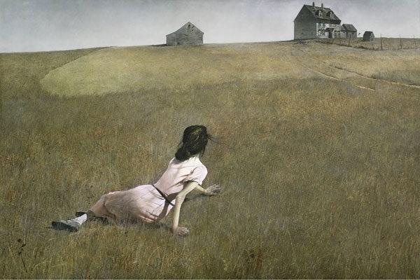 O mundo de Christina Por Andrew Wyeth