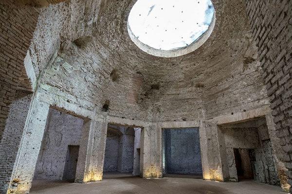 Domus Aurea Tribunal Octogonal, Roma, Itália
