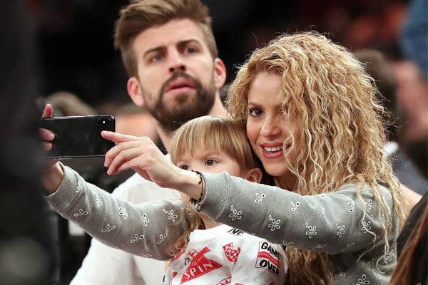 Shakira esposa de Piqué