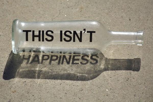 Isso não é felicidade